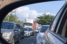 [Video] Ùn tắc nghiêm trọng ở cửa ngõ Thành phố Hồ Chí Minh