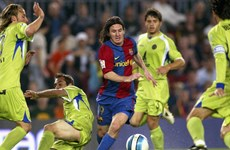 Siêu phẩm vào lưới Getafe của Messi đẹp nhất lịch sử Barcelona