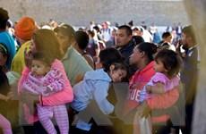 Mỹ siết chặt các biện pháp nhằm ngăn chặn dòng người di cư Trung Mỹ