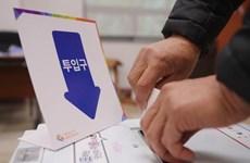 Hàn Quốc bắt đầu bầu cử Quốc hội và Hội đồng địa phương bổ sung