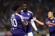 Kết quả vòng 4 V-League: Thắng đậm SLNA, Hà Nội FC trở lại ngôi đầu