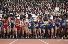 Gần 1.000 người nước ngoài tham gia giải chạy marathon ở Triều Tiên