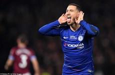 Eden Hazard tỏa sáng, Chelsea leo lên tốp 3 Premier League