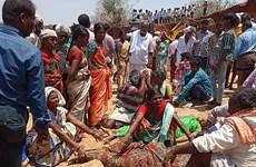 Lở đất nghiêm trọng tại Ấn Độ, ít nhất 10 lao động tử vong