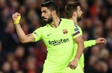 Cận cảnh Barcelona lần đầu tiên đánh bại M.U tại Old Trafford