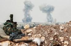 Israel không kích miền Trung Syria, nhiều tòa nhà bị phá hủy