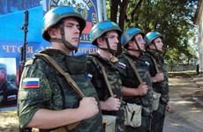 Nga điều binh sỹ gìn giữ hòa bình đến Trung Phi và Cyprus