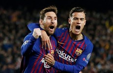 Champions League: Barca vùi dập M.U, Juventus 'nếm trái đắng'