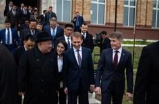 Nhà lãnh đạo Triêu Tiên đến Vladivostok bắt đầu thăm Nga