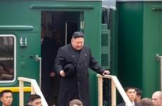 Video Nhà lãnh đạo Triều Tiên Kim Jong-un đặt chân đến Nga