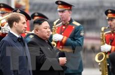 [Video] Nhà lãnh đạo Triều Tiên Kim Jong-un tới Vladivostok