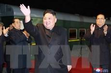 Nhà lãnh đạo Triều Tiên Kim Jong-un cảm thấy vui khi ở trên đất Nga