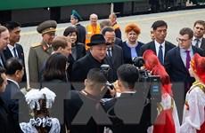 Đoàn tàu bọc thép chở nhà lãnh đạo Triều Tiên đã tới Vladivostok