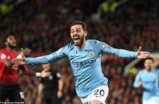 Hạ gục Manchester United, Man City chính thức giành ngôi đầu