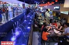 TP Hồ Chí Minh duy trì hoạt động chợ ẩm thực dưới lòng đất