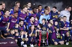Messi lập công, Barcelona bảo vệ thành công ngôi vương La Liga