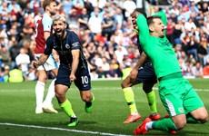 Aguero ghi bàn, Man City đòi lại ngôi đầu từ tay Liverpool