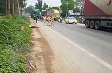 Tai nạn giao thông nghiêm trọng trên quốc lộ 1A, 5 người thương vong