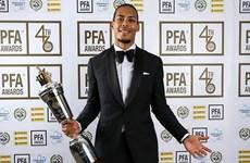 Virgil van Dijk giành giải Cầu thủ hay nhất Premier League từ PFA