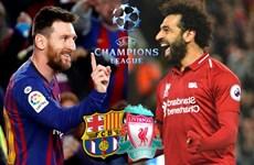 Lịch thi đấu và trực tiếp lượt đi bán kết Champions League