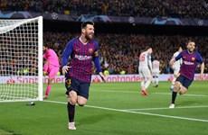 Hình ảnh đáng nhớ ở trận Bacelona thắng vùi dập Liverpool