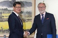 EU và Hàn Quốc khẳng định hợp tác chặt chẽ về vấn đề Triều Tiên