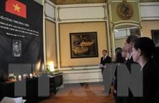Tổ chức lễ viếng nguyên Chủ tịch nước Lê Đức Anh tại Bỉ và Israel