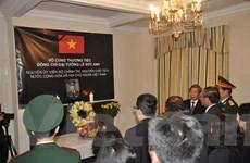 Lễ viếng và mở Sổ tang nguyên Chủ tịch nước Lê Đức Anh tại Anh và Pháp