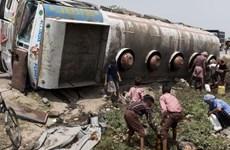 Niger: Xe chở dầu phát nổ, khiến ít nhất 55 người thiệt mạng