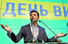 Tổng thống đắc cử Ukraine cam kết tiếp tục lộ trình gia nhập NATO, EU