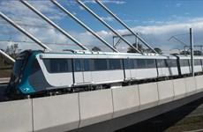 Australia sắp đưa vào khai thác tuyến tàu điện không người lái