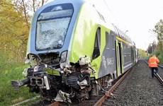 Đức: Tàu va chạm xe đầu kéo, khiến ít nhất 20 người bị thương