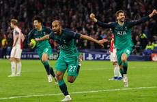 Moura lập hat-trick đưa Tottenham vào chung kết đầy kịch tính