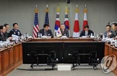 Vụ phóng vật thể bay của Triều Tiên bao trùm đối thoại Hàn-Mỹ-Nhật