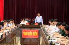 Đoàn Tiểu ban Văn kiện Đại hội XIII của Đảng làm việc tại Điện Biên