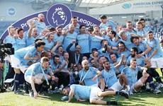Video khoảnh khắc thầy trò Pep Guardiola đăng quang Premier League