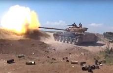 Quân đội Syria giành lợi thế trong chiến dịch truy quét tại Hama
