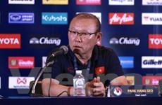 HLV Park Hang-seo nói gì sau khi Việt Nam đánh bại Thái Lan?