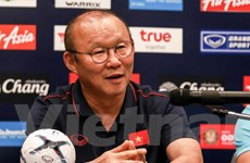 HLV Park Hang-seo: Chúng tôi đã thắng Thái Lan ở chung kết rồi