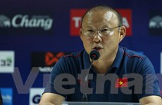 HLV Park Hang-seo lên tiếng về những 'căng thẳng' trước trận gặp Thái