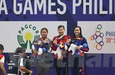 SEA Games 30: Nguyễn Thị Ánh Viên giành huy chương Vàng 200m tự do