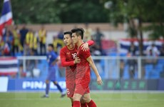 Công bố đội hình ra sân của U22 Việt Nam ở trận gặp U22 Campuchia