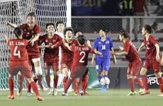 SEA Games 30: Tuyển bóng đá nữ đưa đoàn Việt Nam trở lại tốp 2
