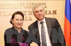 Chủ tịch Quốc hội hội đàm với Chủ tịch Duma Quốc gia Liên bang Nga