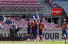 Trực tiếp Barcelona - Real Madrid 1-1: Hấp dẫn và kịch tính