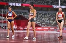 Quách Thị Lan chia tay Olympic trong cơn mưa nặng hạt ở Tokyo