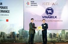 Vinamilk là công ty có điểm Quản trị tốt nhất Việt Nam