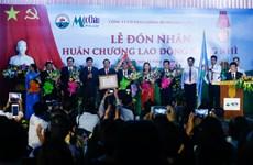 Công ty Giống bò sữa Mộc Châu nhận Huân chương Lao động Hạng nhì