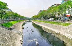 [Photo] Cận cảnh công nghệ làm sạch sông Tô Lịch của Nhật Bản
