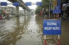 [Video] Hà Nội: Cơn mưa lớn gây ngập nhiều tuyến đường